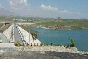 فرماندار الیگودرز: سد «حوضیان» سرریز کرد