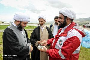 عکس/ سرکشی رئیس سازمان تبلیغات از فعالیت طلبههای جهادی در معمولان