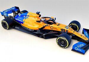 رونمایی از خودروی مکلارن در رقابتهای ۵۰۰ مایلی ایندیاناپلیس +عکس