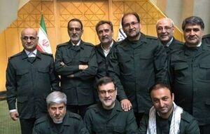 نمایندگان مجلس در لباس سپاه +عکس
