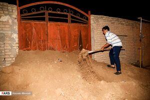 ساخت سیل بند برای روستای سبحانیه