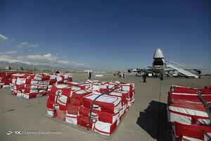 عکس/ ارسال ۶۰۰۰ محموله چادری به مناطق سیل زده