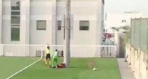 معجزهای که در برای فوتبالیست اماراتی روی داد +عکس