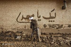 عکس/ فعالیت گروههای جهادی در مناطق سیل زده