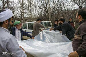 عکس/ امداد رسانی پاسداران به سیل زدگان خراسان