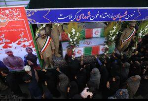 تشییع پیکر شهدای مجتمع شهید درویشی