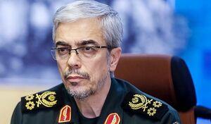 پیام تبریک رئیس ستادکل نیروهای مسلح به سرلشکر سلامی
