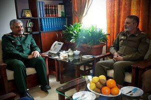 جزئیات دیدار فرمانده کل ارتش با سرلشکر جعفری