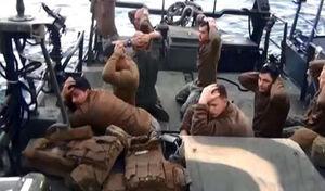نیروهای آمریکایی دستگیرشده