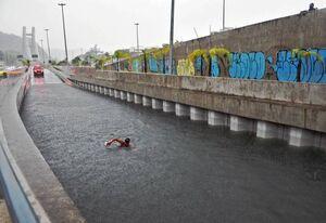 سه کشته بر اثر سیل در برزیل