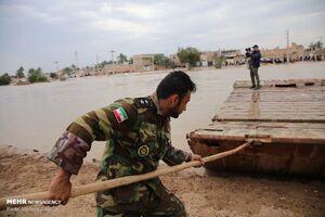 احداث پل شناور نیروی زمینی ارتش در کوت سید صالح