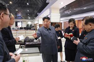 فروشگاه مدرن در کره شمالی