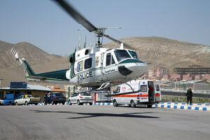 سقوط یک بالگرد مرزبانی در ارومیه+جزییات