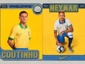 عکس/ لوگو و پیراهن جدید تیم ملی فوتبال برزیل