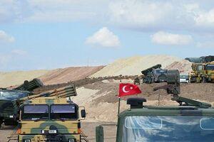 مقر ارتش ترکیه در عفرین منهدم شد