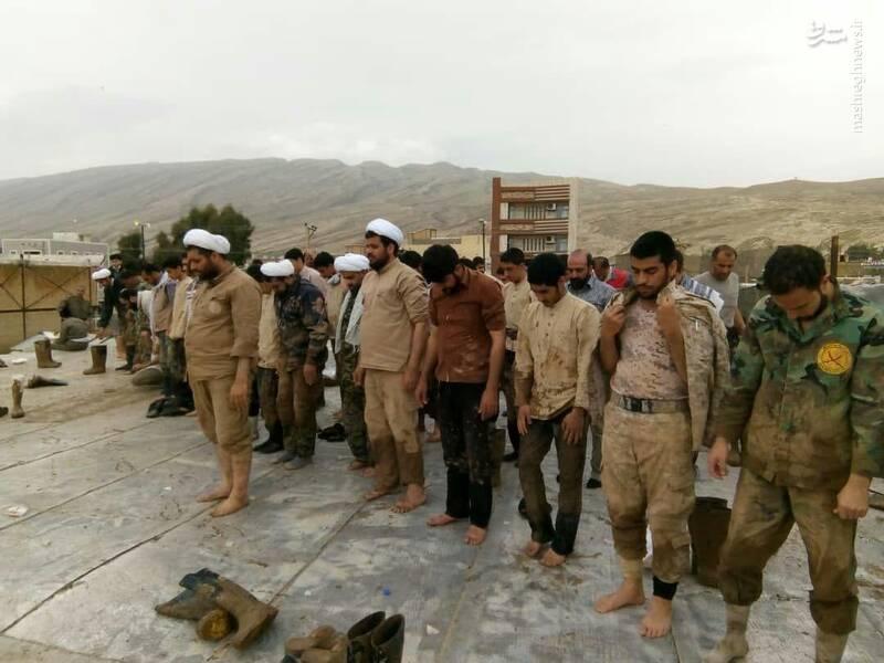 فعالیت های گروههای جهادی امام رضا در پلدختر