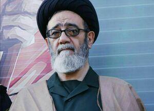 پوشش متفاوت حجت الاسلام آل هاشم