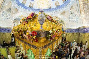 تصاویر زیبا از ضریح حضرت ابوالفضل(ع)