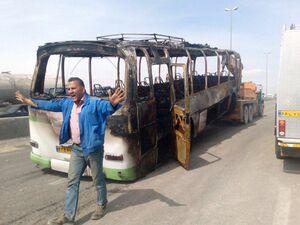 عکس/ تصادف مرگبار در جاده تهران-ساوه