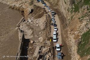 بازسازی جاده افرینه به معمولان