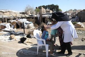 عکس/ ویزیت رایگان ساکنان مناطق محروم
