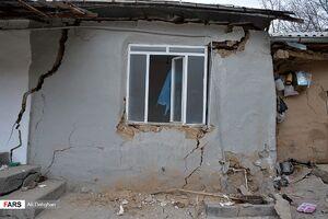 عکس/ خسارت رانش زمین در «مینو دشــت»