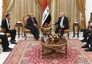 رئیسجمهور عراق به سفیر ایران چه گفت؟
