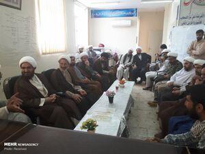 عکس/ دیدار حجتالاسلام حاجعلیاکبری  با گروههای جهادی پلدختر