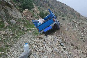 واژگونی نیسان حامل کارگران حفر کانال در آق قلا