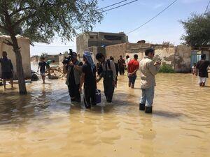 عکس/ خبرنگاران در روستای «عین دو» اهواز