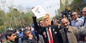 حمایت نمازگزاران تهرانی از سپاه پاسداران