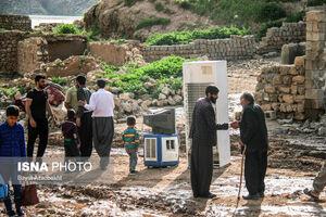 عکس/ زیر آب رفتن روستاهای اطراف سد سیمره