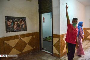 عکس/ ورود سیلاب به غرب اهواز