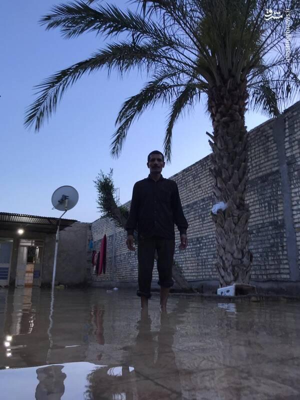 وضعیت روستای سیل زده عین دو اهواز