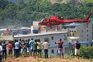 فرو ریختن دو ساختمان در ریودوژانیرو برزيل