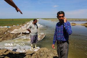عکس/ بیست و پنجمین روز از سیل گلستان