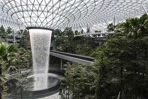عکس/ آبشار مصنوعی غول پیکر