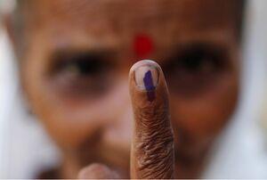 عکس/ شرکت مردم هند در انتخابات