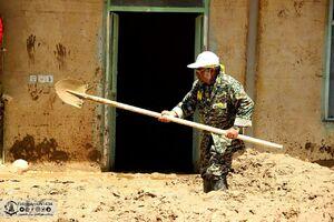 فیلم/ نیروهای ضدشورشِ بیل به دست!