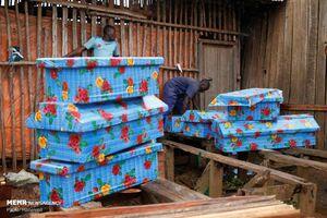 عکس/ شیوع مرگبار ابولا در کنگو