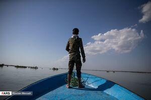 عکس/ امدادرسانی سپاه و بسیج به روستاهای بُستان