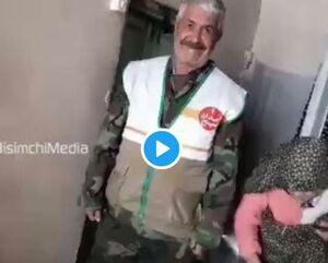 پیر زنی که تنها داراییاش را به سیل زدگان داد ! +فیلم