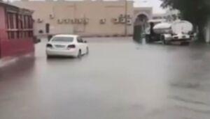 فیلم/ جاری شدن سیل در بحرین