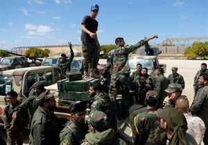 """بمباران یک مدرسه و چند منزل مسکونی توسط نیروهای """"حفتر"""""""
