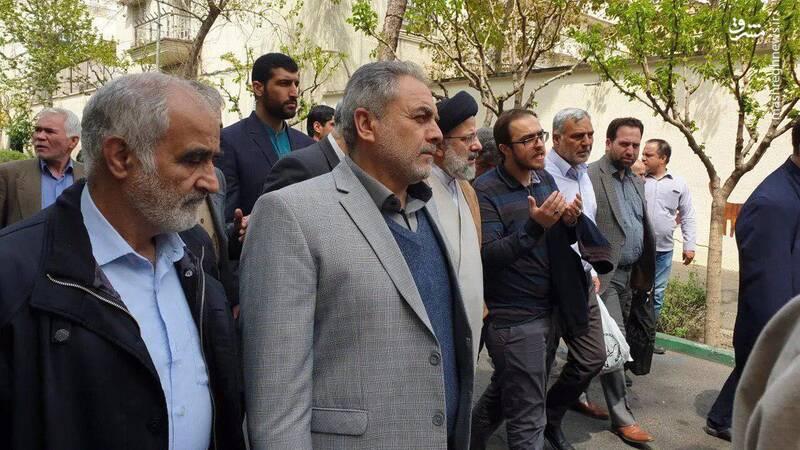 سید ابراهیم رئیسی در نماز جمعه تهران