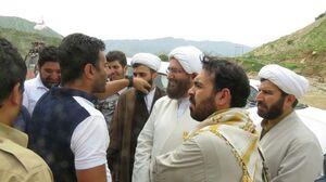 عکس/ حاج علی اکبری در پلدختر و معمولان