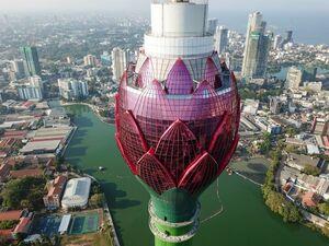 عکس/ برج نیلوفر آبی کلمبو