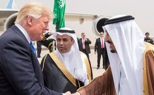 ترامپ: به سلمان گفتم اگر ما نباشیم، ایران ۲ هفتهای عربستان را میگیرد