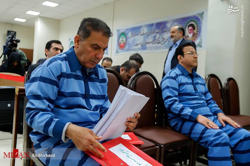 عکس/ ششمین جلسه رسیدگی به اتهامات حسین هدایتی - 2