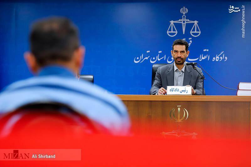 عکس/ ششمین جلسه رسیدگی به اتهامات حسین هدایتی - 5